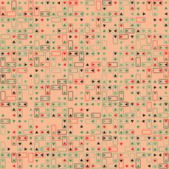 Beautiful geometric pattern design