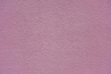 Pink plaster wall