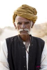 People of the Rajasthani Desert. India