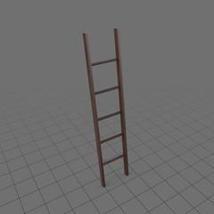 Straight wall ladder