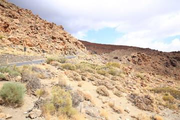El Teide National Park on Tenerife Island, Canary Islands, Spain