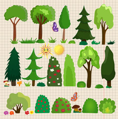 vector a set of trees