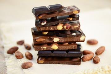 Nachtisch Schokolade