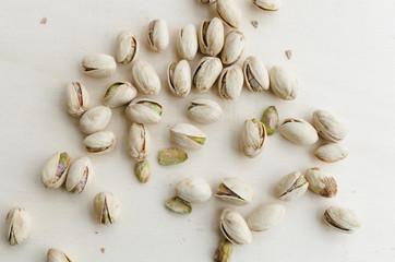 Bunch of pistachios