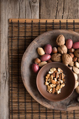 Assorted Raw Nuts - Rich in Omega-3