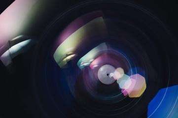 Macro Shot of Lens