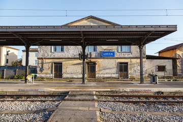 Lucca Train Station Italy