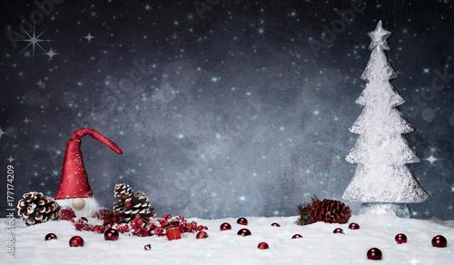 Photoshop weihnachtlicher hintergrund