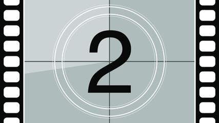 Vintage Movie Countdown Number Two