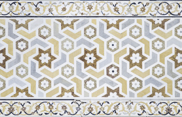 Arabic Mosaic Pattern Wall