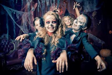 scare on halloween