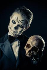 skeleton gentleman boy