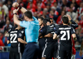 Champions League - S.L. Benfica vs Manchester United