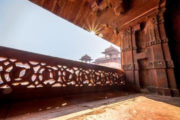 Sun Burst in Fatehpur Sikri