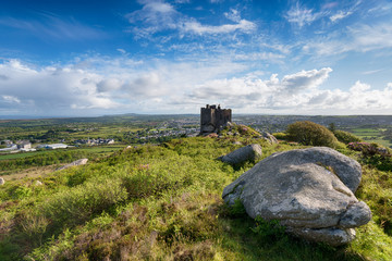 Wall Mural - Summer at Carn Brea