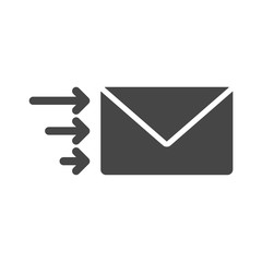 Letter icon, Send email message