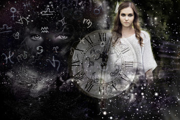 Woman ,Universe ,astrology