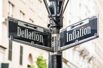 Fototapete - Schild 259 - Inflation