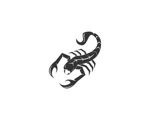 Scorpion logo design vector