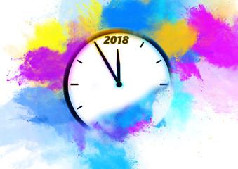 Neujahr 2018 Party