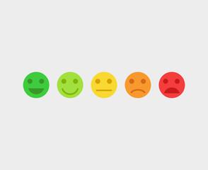 emotions set icons