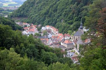 Fotomurales - Bad Berneck im Fichtelgebirge