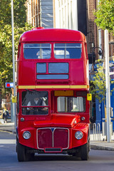 Foto auf Leinwand London roten bus Double Decker bus