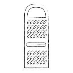 cheese grater isolated icon