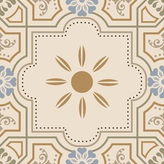 Islamic pattern. Arabic geometric pattern, east ornament, indian ornament, persian motif. Texture can be used for wallpaper, ceramic tiles, pattern fills, web page background.