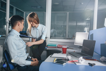 love affair at work/ Sexual relations in the office between employees