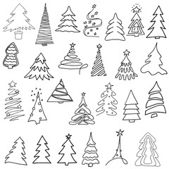 Christmas tree set.