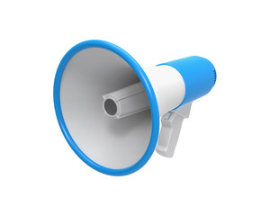 Megaphone isolated on a white.