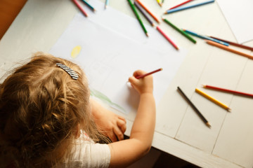 How to develop the creative abilities of your child. Focus on the child head