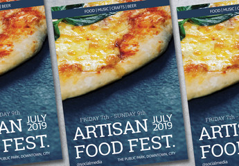 Food Event Poster Layout 1