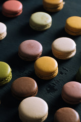 Delicious Multi-Flavoured Macarons