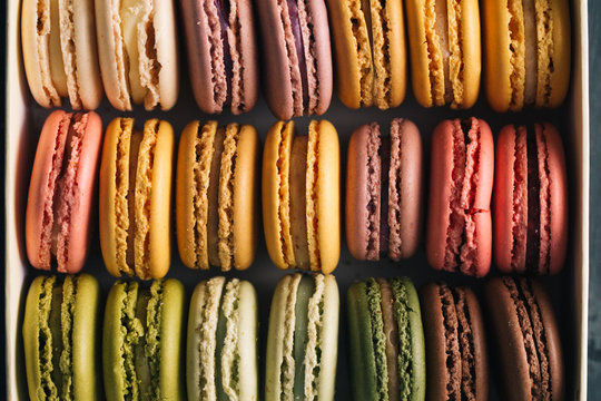 Multi-Flavoured Macarons