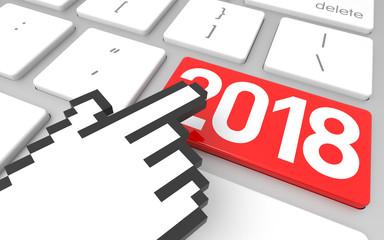 Red 2018 Enter Key