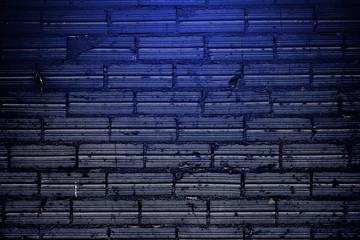 Fondo de ladrillos azulados.