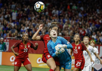 Soccer: International Friendly Women's Soccer-Korea Republic at USA