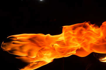 the texture of fire