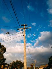 Lighting pole