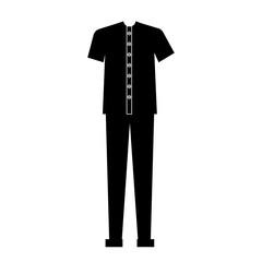 male casual clothes icon