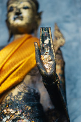 Golden Hand of Buddha