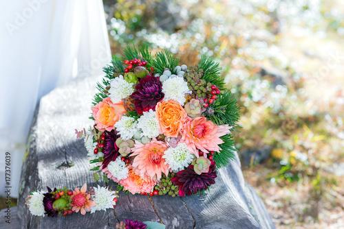 Trendige Floristik Fur Eine Herbstliche Vintage Hochzeit