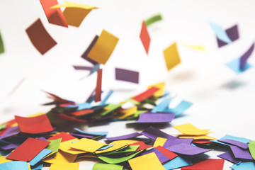 Colourful Paper Confetti