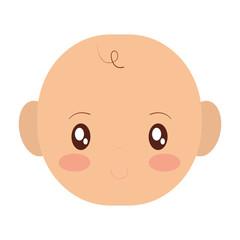 cartoon baby icon
