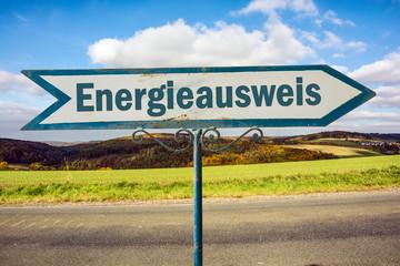 Schild 251 - Energieausweis