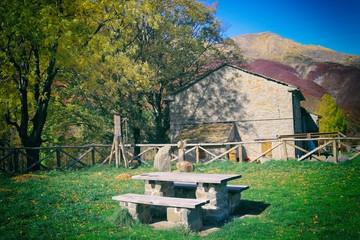 rifugio di montagna ai Taburri, località dell'Appennino modenese