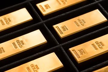 Gold Ingots Storage in Black Box