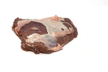 pezzo di carne bovina guanciale